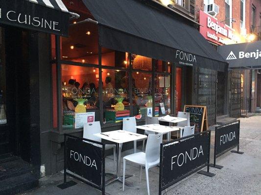 Fonda restaurant chelsea