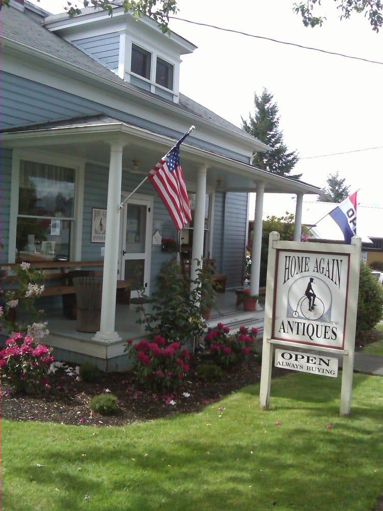 Home Again Antiques: 21631 Main St NE, Aurora, OR