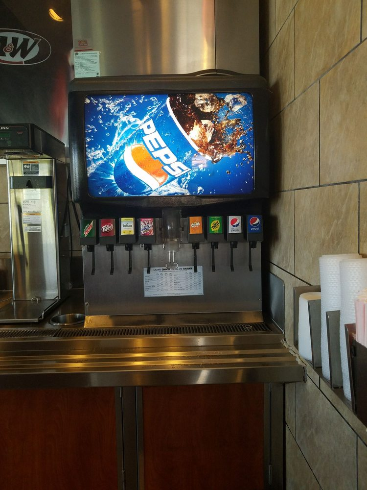 Menu For Olive Garden: Pepsi Products