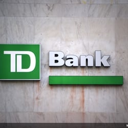 how to find bank number td