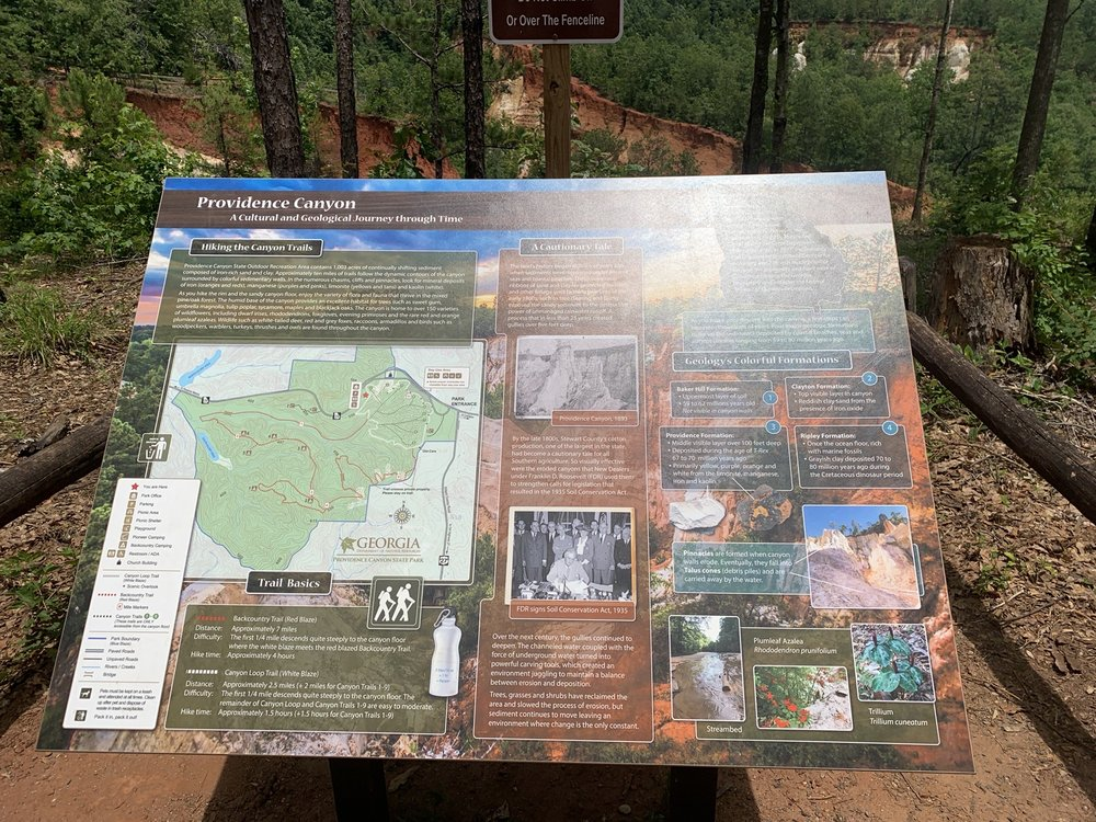 Providence Canyon State Park: 8930 Canyon Rd, Lumpkin, GA