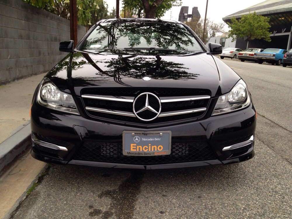 love my new ride from mercedes of encino yelp