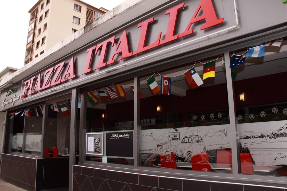 Piazza italia 12 recensioner pizza 166 rue francis for Garage rue des bienvenus villeurbanne