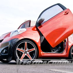 Photo of Vertical Doors - Lake Elsinore CA United States. Scion IQ with & Vertical Doors - 14 Photos - Auto Parts \u0026 Supplies - 542 3rd St ... Pezcame.Com