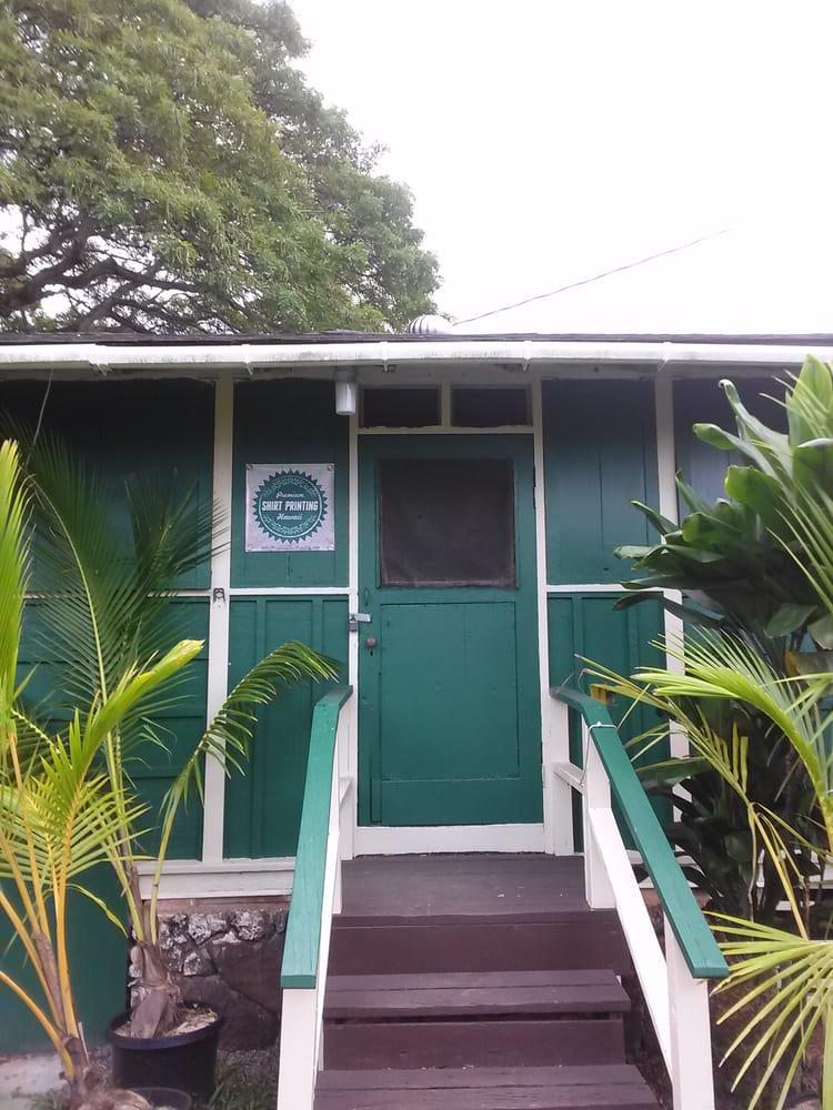 Premium Shirt Printing Hawaii: 46-217 Kahuhipa St, Kaneohe, HI