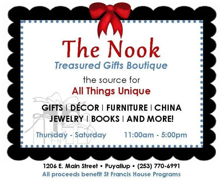 The Nook: 1206 E Main St, Puyallup, WA