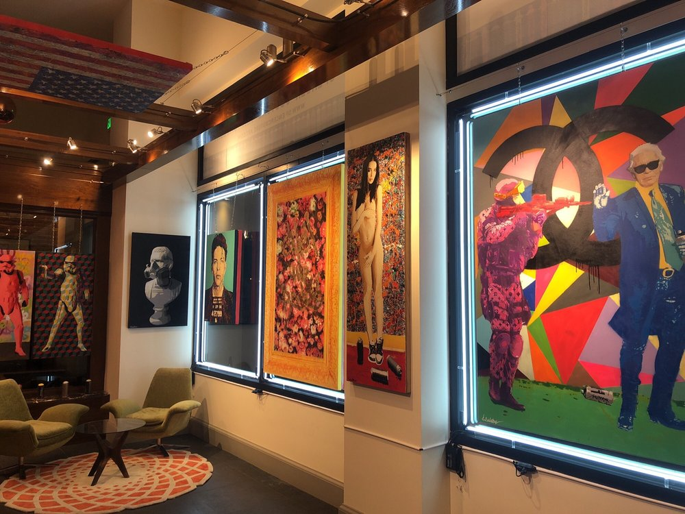 Spencer Couture Art Gallery: 550 J St, San Diego, CA