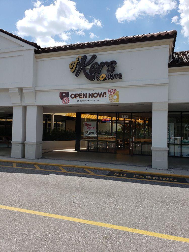 OfKors donuts: 4862 S Tamiami Trl, Sarasota, FL