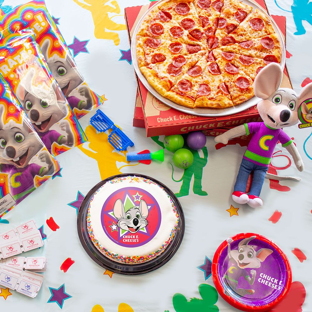 Social Spots from Chuck E. Cheese