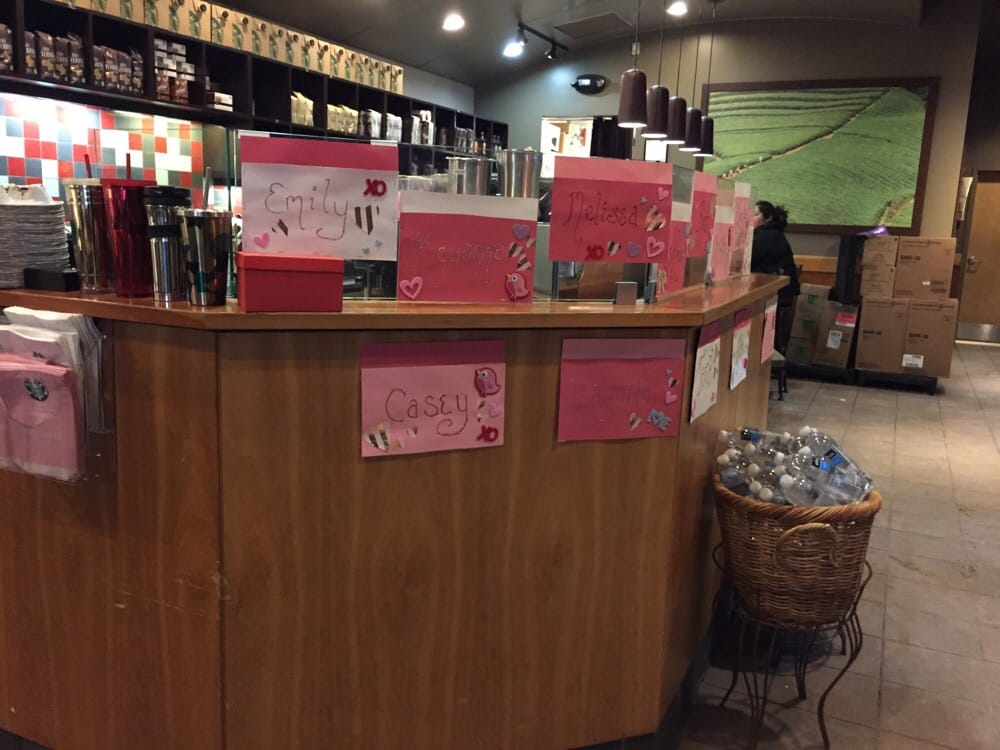 Schön Photo Of Starbucks   Milford, CT, United States. Valentineu0027s Day Decorations