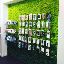 Photo Of GoMobile Repair   Vancouver, BC, Canada. Our Green Wall With A