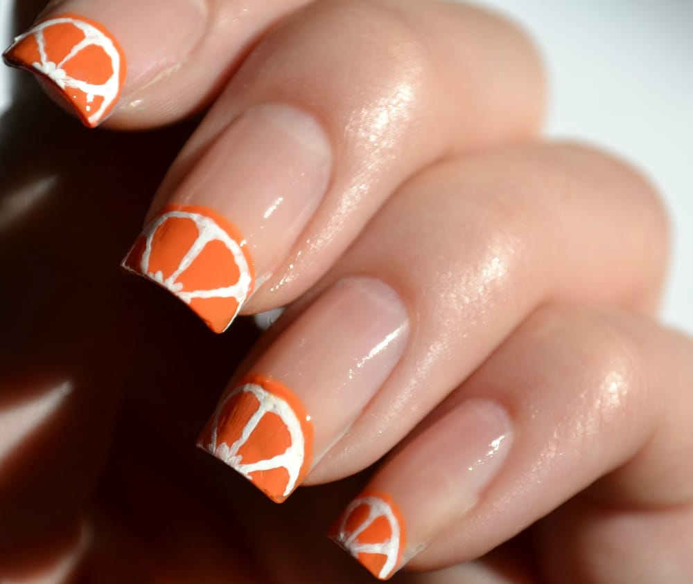 4 Cute And Easy Fruit Nail Art Designs Styles At Life