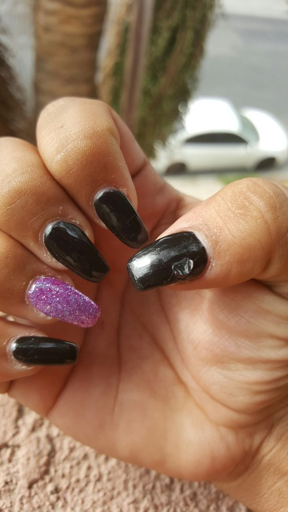 Waste of $30 for gel nails that were done very very poorly - Yelp
