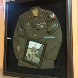 photo of big picture framing lexington ma united states framed uniform and