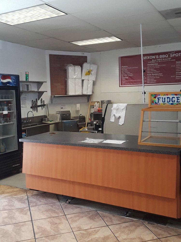Mixon's bbq spot: 3103 Delta Fair Blvd, Antioch, CA