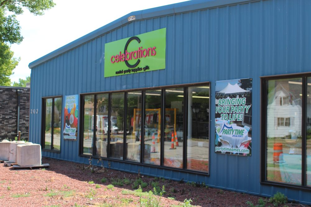 Celebrations Party & Rental Store: 302 S 3rd St, Ames, IA