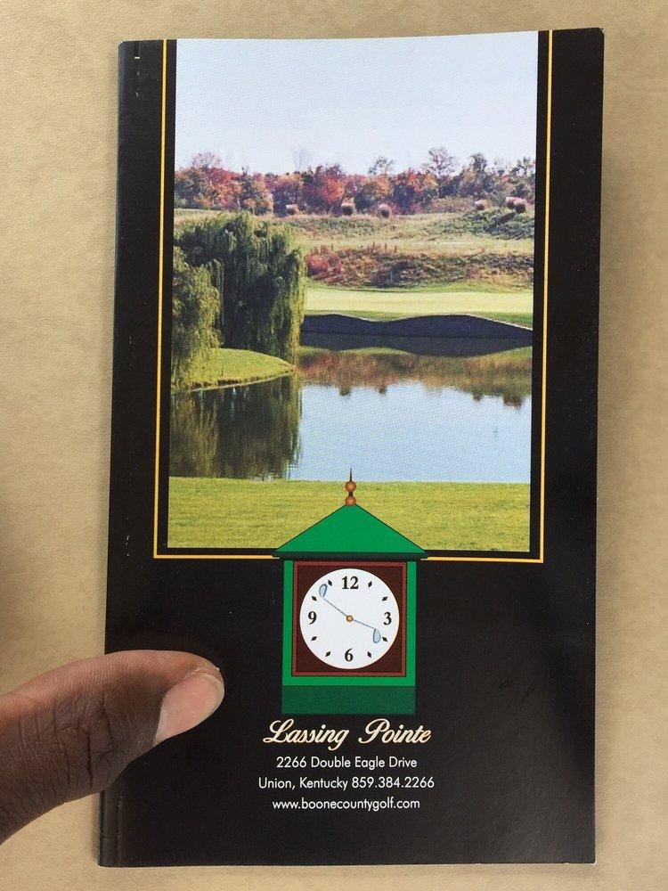Lassing Pointe Golf Course: 2266 Double Eagle Dr, Union, KY