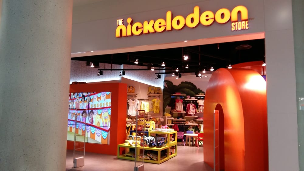 Nickelodeon clothing store