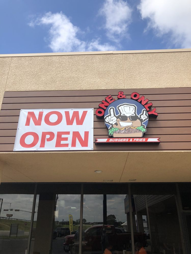 The One and Only Burgers and Fries: 2700 Texoma Pkwy, Sherman, TX