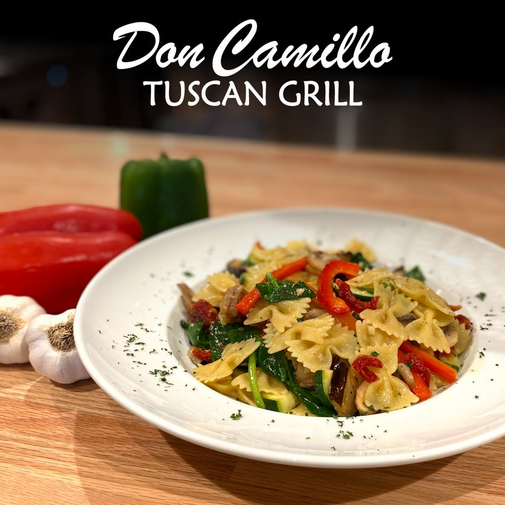 Don Camillo Tuscan Grill: 1225 Turbeville Rd, Hickory Creek, TX