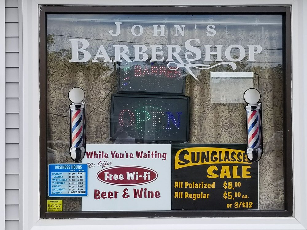 John's Barber Shop: 160 Mac Arthur Blvd, Bourne, MA