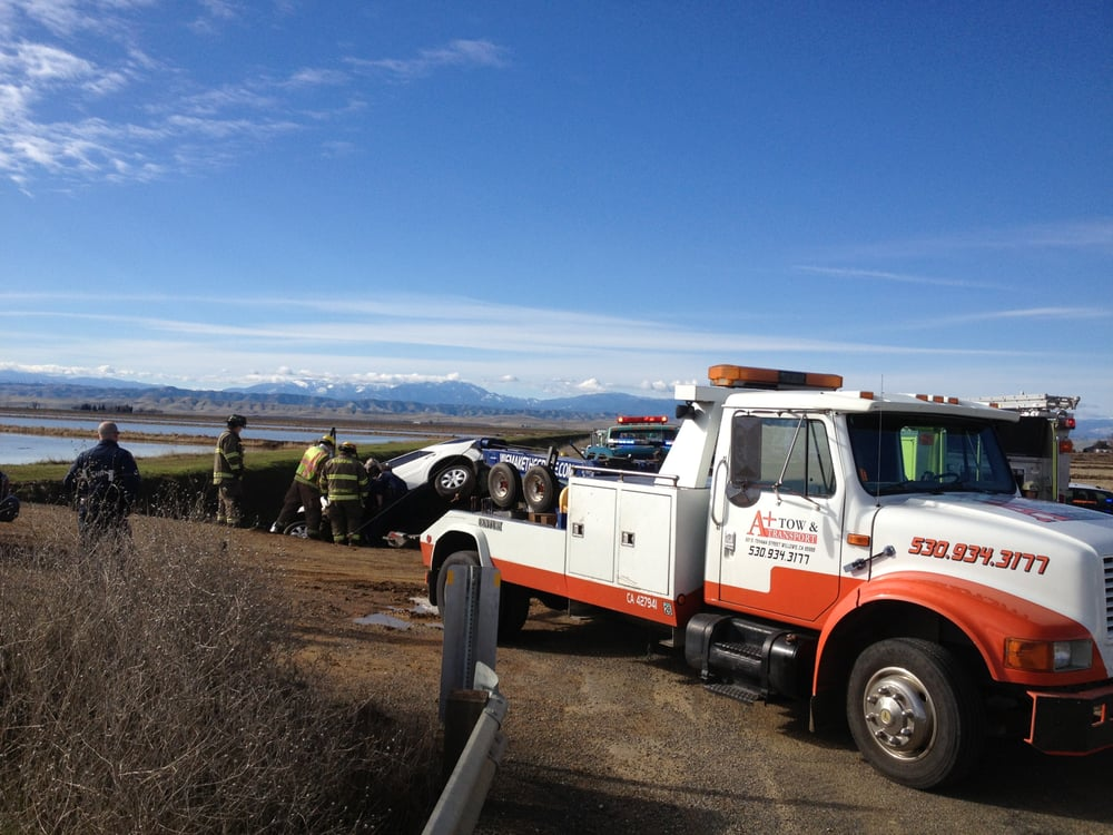 A Plus Tow and Transport: 621 S Tehama St, Willows, CA