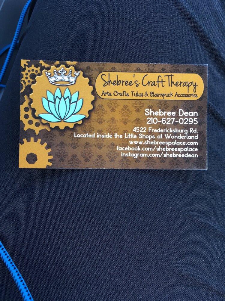 Shebree's Craft Therapy: 4522 Fredericksburg Rd, San Antonio, TX