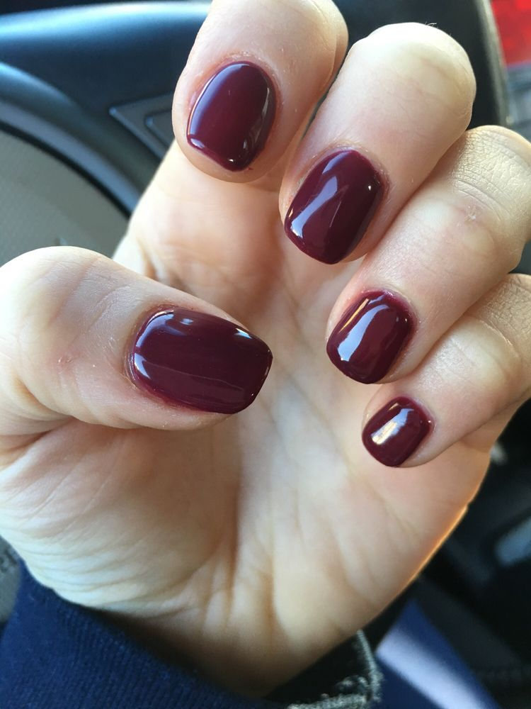 Nail color we the females by opi. (gel) - Yelp