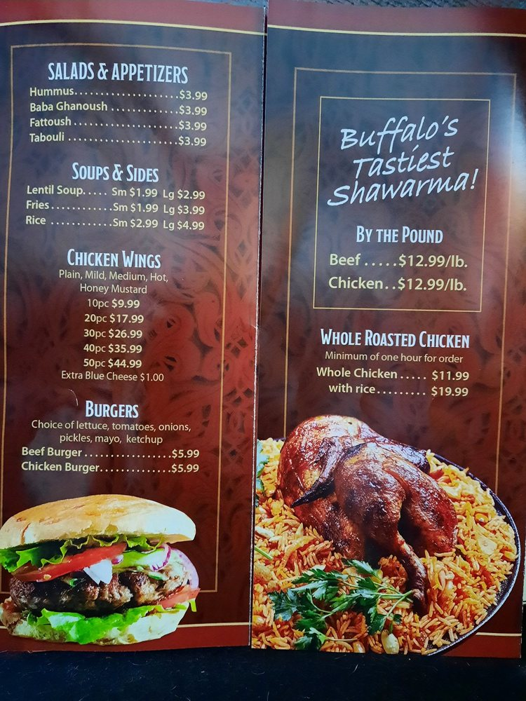 Food from Alsalam Middle Eastern Cuisine