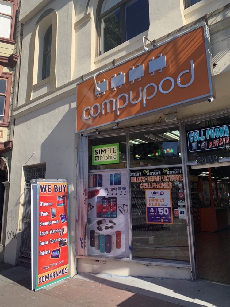 Compupod: 2433 Mission St, San Francisco, CA