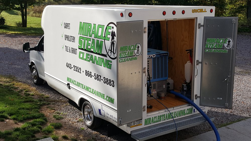 Miracle Steam Carpet & Upholstery Cleaning Service: 308 Bando Rd, Somerset, PA