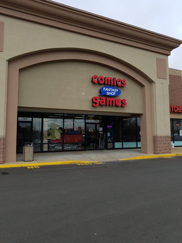 Fantasy Shop Comics & Games: 7329 Manchester Rd, Saint Louis, MO