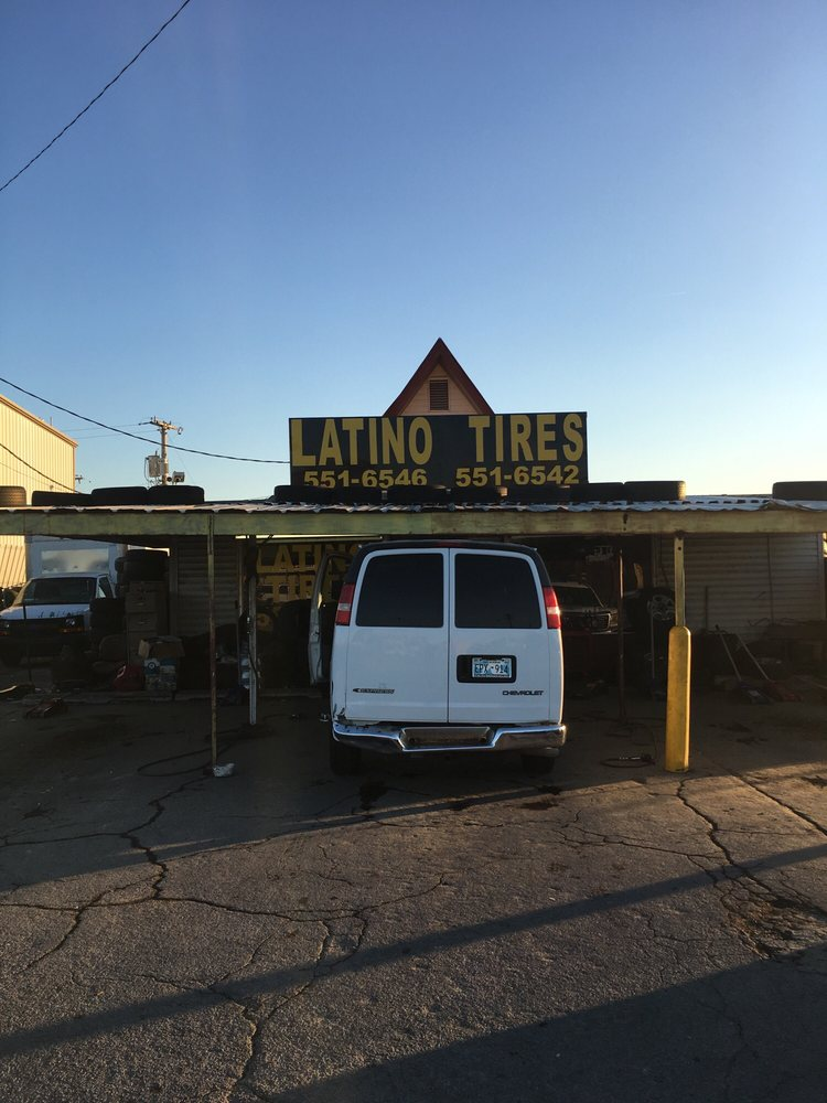 Latino Tires: 9430 E 31st St, Tulsa, OK