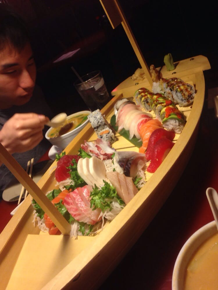 Boat for 3 yelp for Asia sushi bar and asian cuisine mashpee