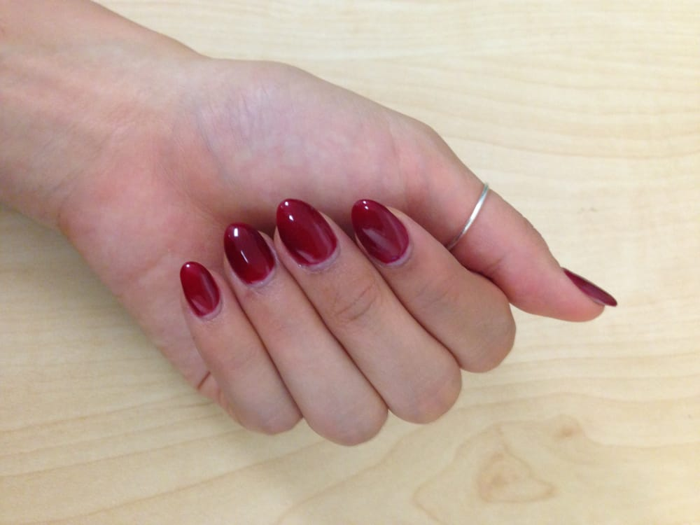 Almond shaped acrylic nails by theo yelp for Acrylic toe nails salon