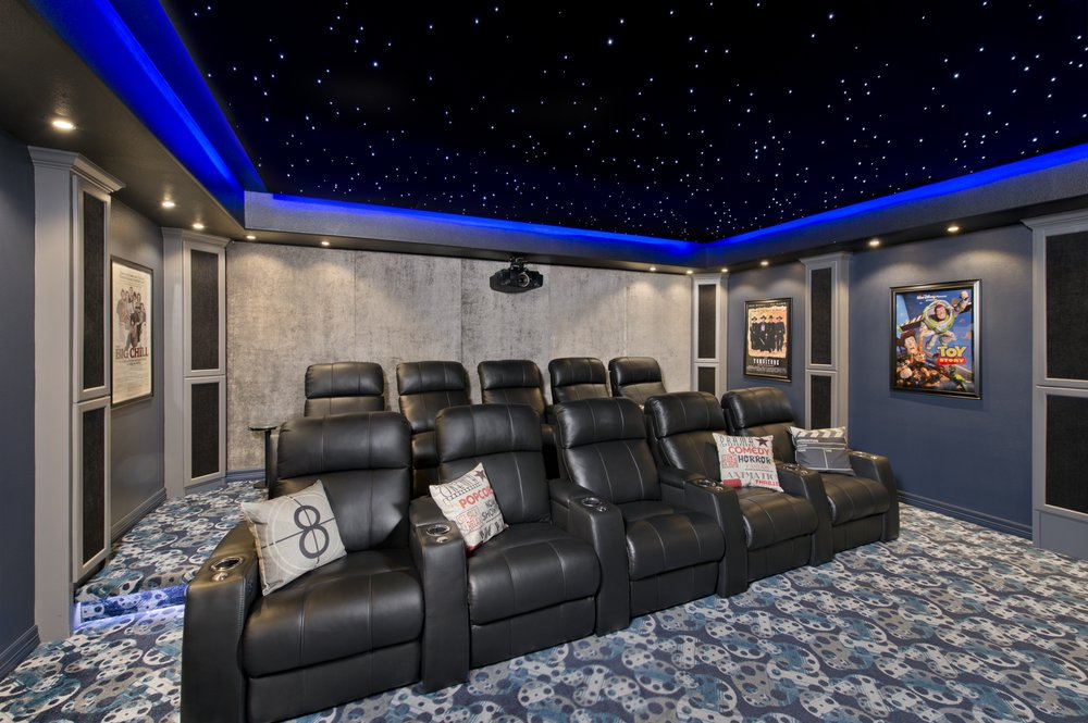 Terrific Caveman Home Theaters 16 Photos Home Theatre Home Interior And Landscaping Staixmapetitesourisinfo