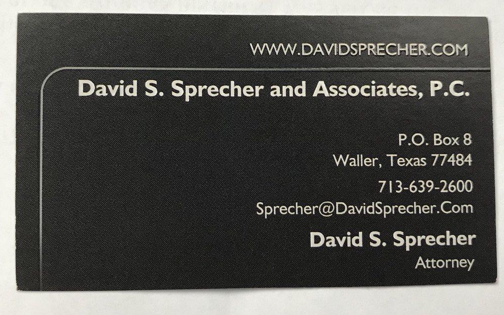 David Sprecher and Associates
