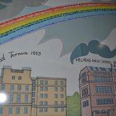 Hillhead subway station 16 photos 20 reviews public for Alasdair gray hillhead mural