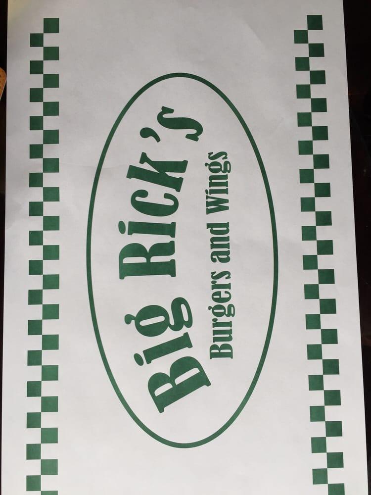 Big Rick's Burgers and Wings: 284 Main St, Madawaska, ME