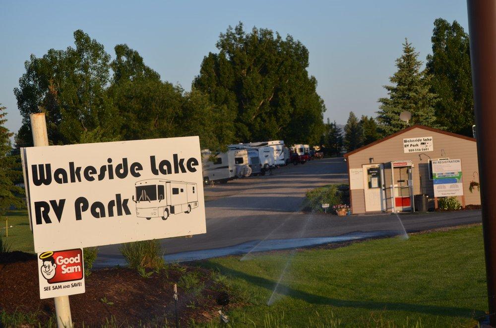 Wakeside Lake Rv Park: 2245 South 2000 W, Rexburg, ID