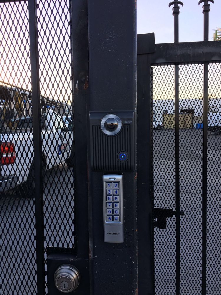 New Intercom System With Camera Installed In Garden Grove