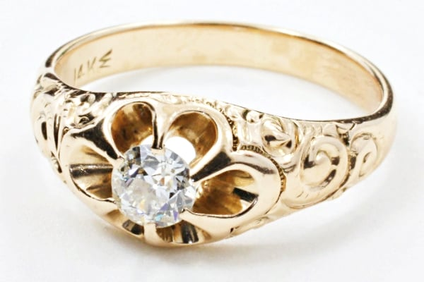 Unique heirloom and antique engagement rings -- 1800s ...