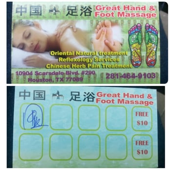 Hand and foot massage scarsdale