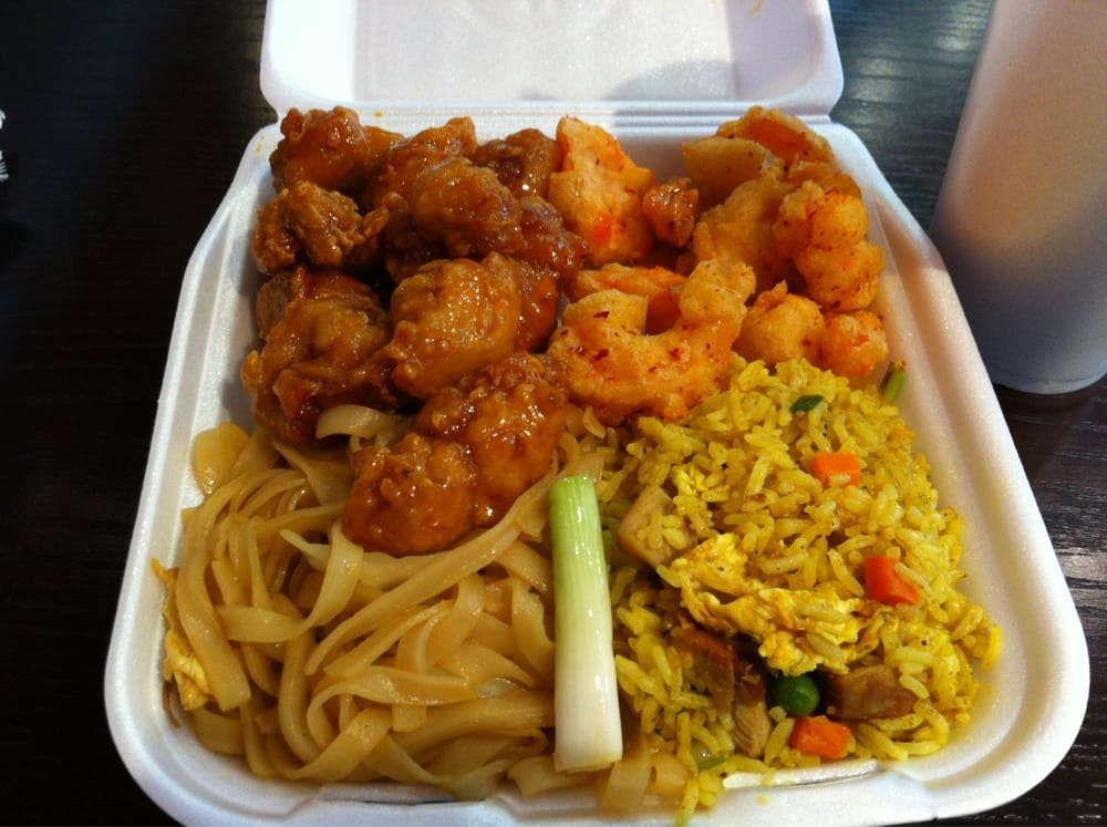 Mango Chicken Shrimp Curry Rice Noodles Yelp