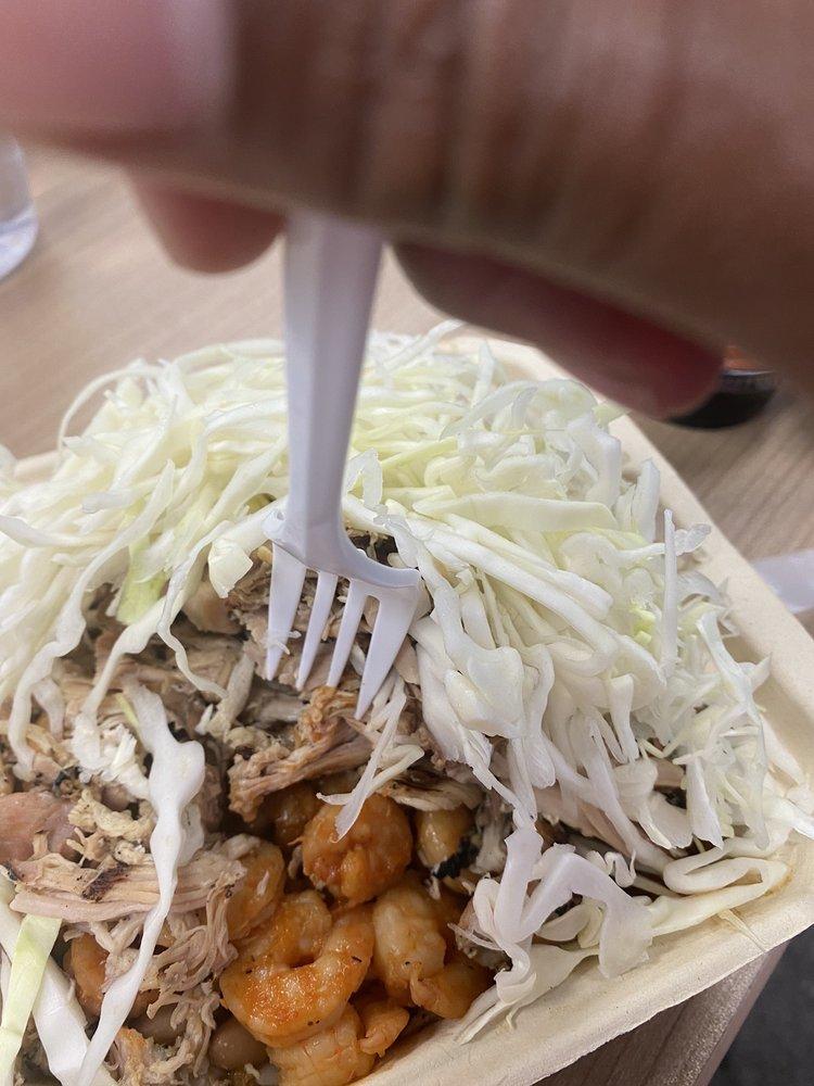 Food from Cali Burrito