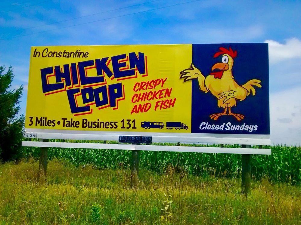 Chicken Coop of Constantine: 67173 US Hwy 131 S, Constantine, MI