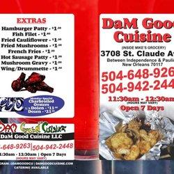 Dam Good Cuisine