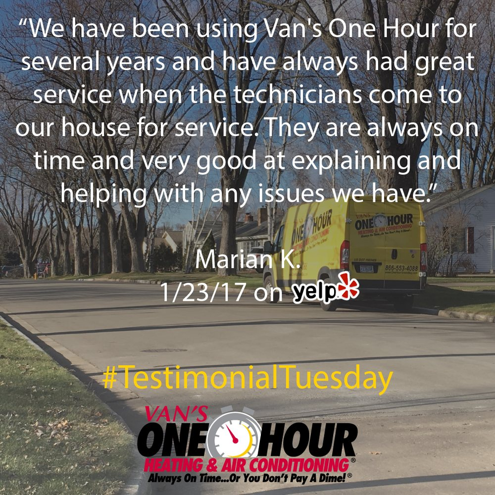 Van's One Hour Heating & Air Conditioning: 525 Butler St, De Pere, WI