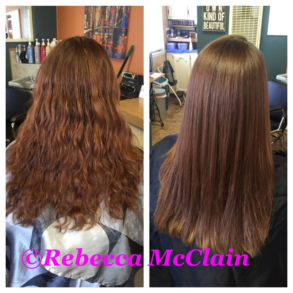 Before And After Of Japanese Permanent Straightening Yelp
