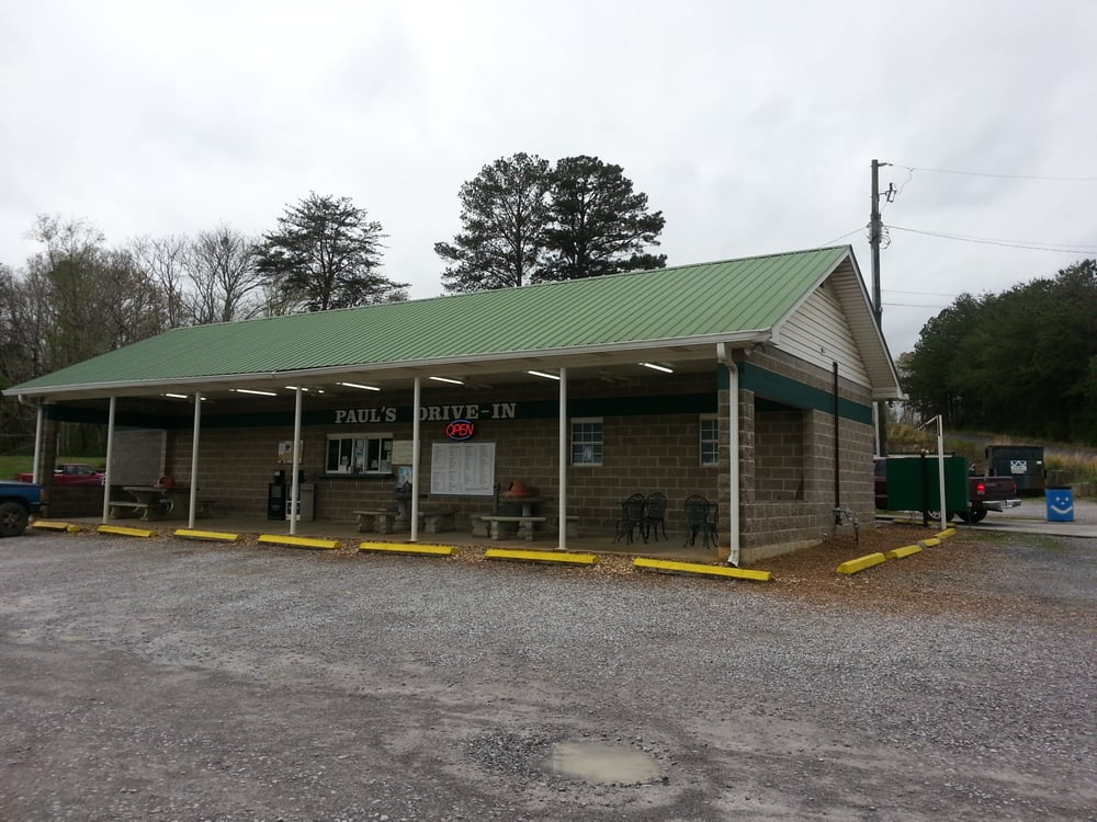 Paul's Drive-In: 3231 US Highway 411 N, Eton, GA